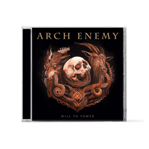 Will To Power by Arch Enemy - 1CD - shop now at Arch Enemy store