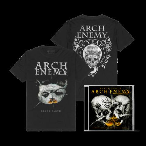 √Black Earth Bundle von Arch Enemy - 2CD + T-Shirt jetzt im Arch Enemy Shop