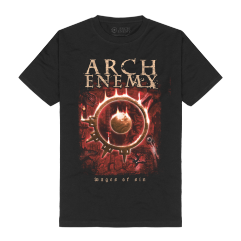 Wages Of Sin by Arch Enemy - t-shirt - shop now at Arch Enemy store