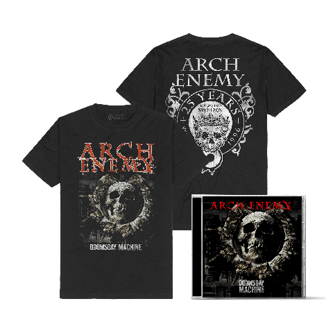 Doomsday Machine Bundle by Arch Enemy - 1CD + T-Shirt - shop now at Arch Enemy store