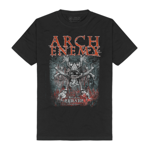 Rise Of Tyrant by Arch Enemy - t-shirt - shop now at Arch Enemy store