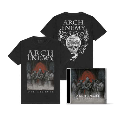 War Eternal Bundle by Arch Enemy - 1CD + T-Shirt - shop now at Arch Enemy store