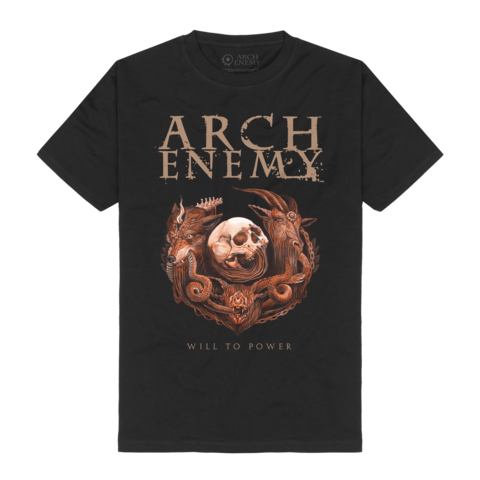 Will To Power by Arch Enemy - t-shirt - shop now at Arch Enemy store