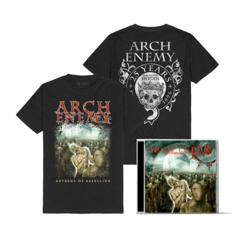 Anthems Of Rebellion Bundle by Arch Enemy - 1CD + T-Shirt - shop now at Arch Enemy store
