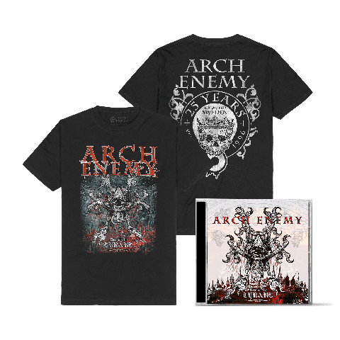Rise Of Tyrant Bundle by Arch Enemy - 1CD + T-Shirt - shop now at Arch Enemy store