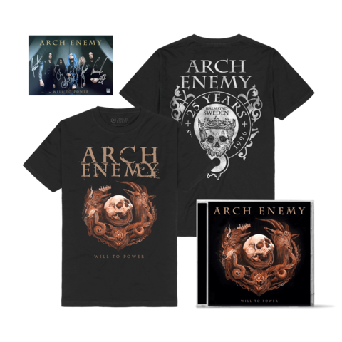 Will To Power Bundle by Arch Enemy - 1CD + T-Shirt - shop now at Arch Enemy store