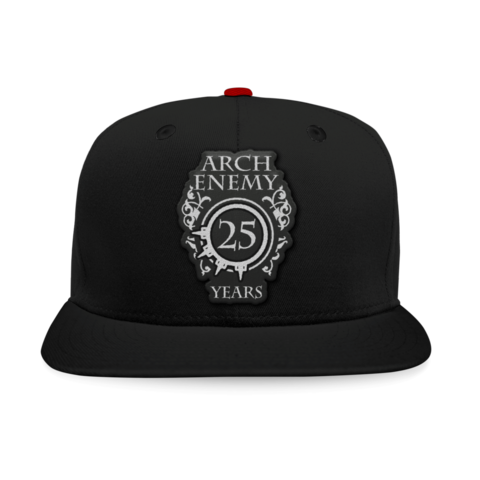 25 Years Crest by Arch Enemy - Snapback Cap - shop now at Arch Enemy store