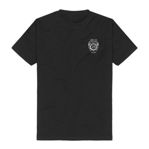 25 Years Pocket Crest by Arch Enemy - t-shirt - shop now at Arch Enemy store