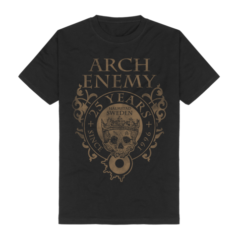 25 Years Crest by Arch Enemy - t-shirt - shop now at Arch Enemy store