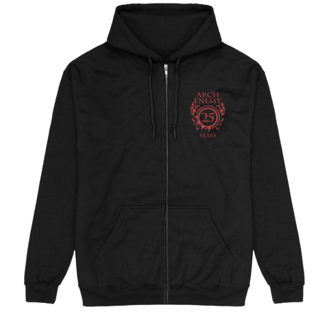25 Years Pocket Crest by Arch Enemy - Hooded jacket - shop now at Arch Enemy store