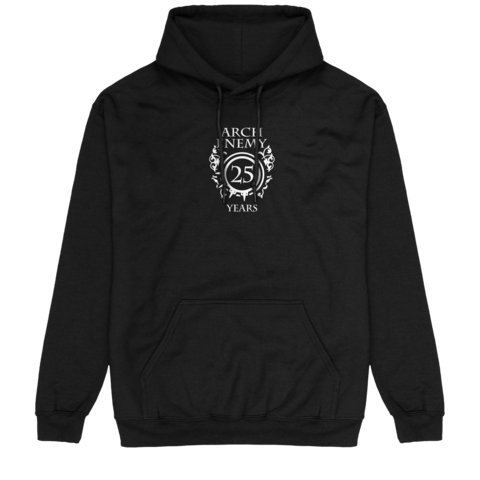 25 Years Crest by Arch Enemy - Hood sweater - shop now at Arch Enemy store