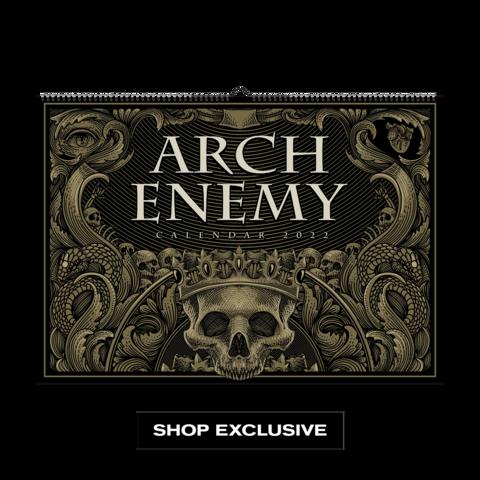 Arch Enemy Calendar 2022 by Arch Enemy - Calendar - shop now at Arch Enemy store