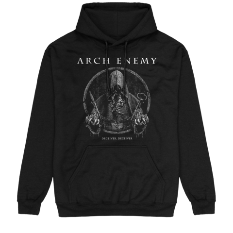 Deceiver, Deceiver by Arch Enemy - Hood sweater - shop now at Arch Enemy store