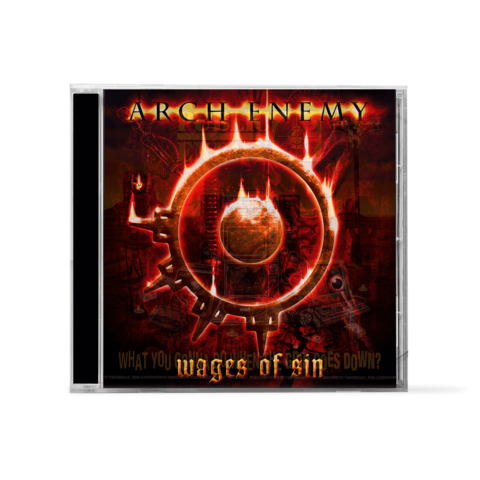 Wages Of Sin by Arch Enemy - 1CD - shop now at Arch Enemy store