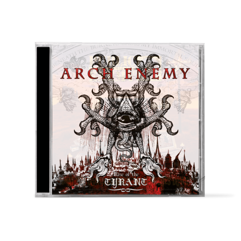 Rise Of Tyrant by Arch Enemy - 1CD - shop now at Arch Enemy store